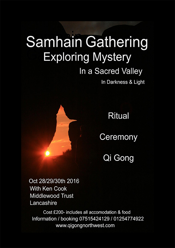 Samhain Gathering with Qigong North West